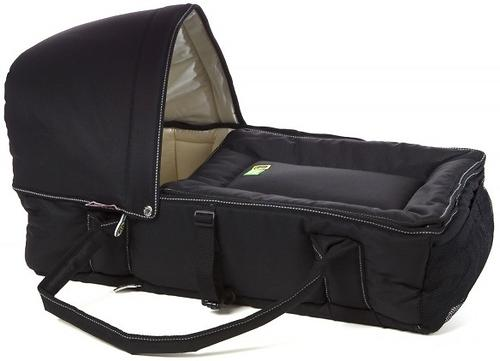 Люлька-переноска Valco baby Soft Bassinet Black (8)