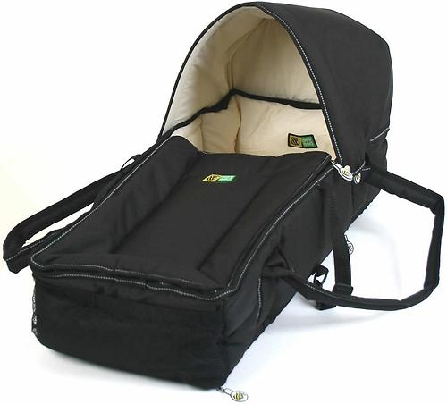 Люлька-переноска Valco baby Soft Bassinet Black (7)