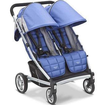 Коляска Valco baby для двойни Zee Two, цвет Blue opal - Minim