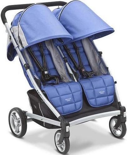 Коляска Valco baby для двойни Zee Two, цвет Blue opal (6)