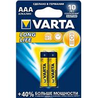 Батарейка Varta Longlife Micro 1.5V - LR03/ AAA (2шт)
