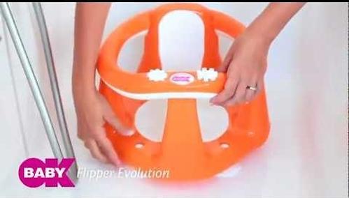 Сиденье в ванну Flipper Evolution Зеленое (6)