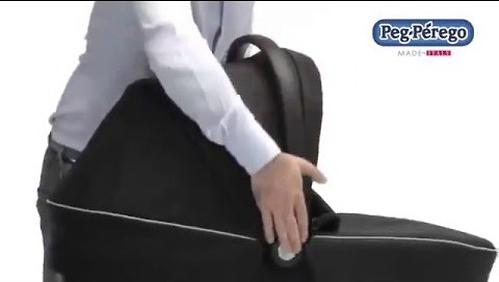 Люлька с сумкой Navetta XL + Borsa Saxony blue (13)
