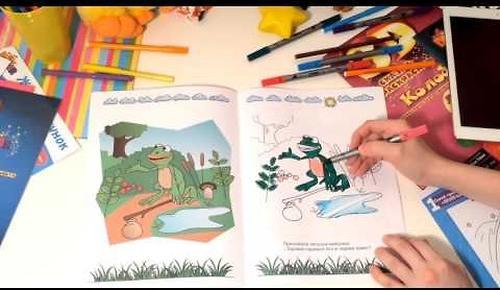 Книга Devar Сказка-раскраска Теремок 3D (10)