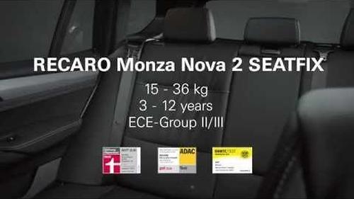 Автокресло Recaro Monza Nova 2 Seatfix Carbon Black (20)