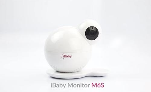Видеоняня iBaby Monitor M6S с датчиком качества воздуха (16)