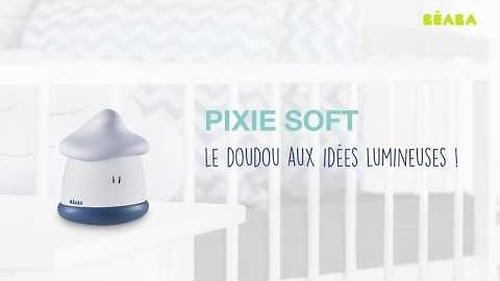 Переносной светильник-ночник (USB) Beaba Pixie NightLight Soft Corail (8)