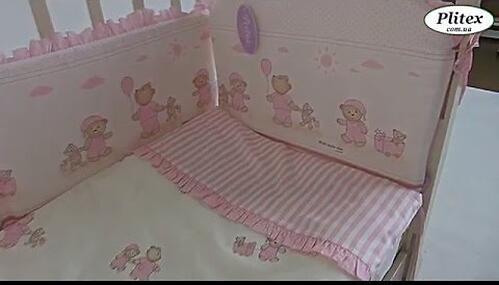 Постельное белье Perina Тиффани Неженка розовая 7 предметов (10)