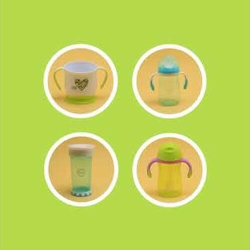 Кружка Happy Baby на присоске Baby cup with suction base Grass (6)