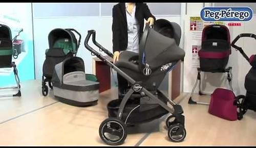 Люлька с сумкой Peg-Perego Navetta Pop Up + Borsa Pop Up Cream (10)