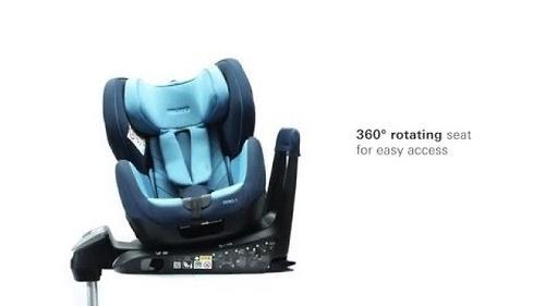 Автокресло Recaro Zero.1 I-size Carbon Black (18)