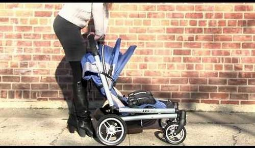 Коляска Valco baby для двойни Zee Two, цвет Blue opal (9)