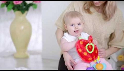 Плюшевая игрушка-погремушка Fisher-Price Горошек (8)