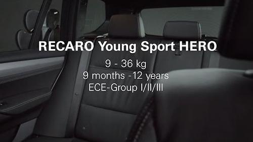 Автокресло Recaro Young Sport Hero Graphite (16)