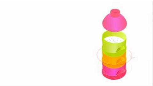 Контейнер Beaba для сыпучих смесей Neon (4)