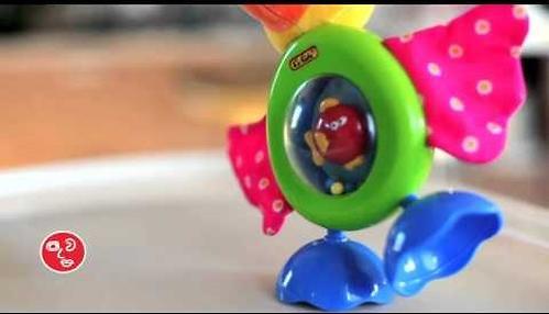 "Развивающая игрушка ""Прогулка Пеликана"" (звук, безопасное зеркало) (10)"
