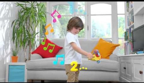 Игрушка TOMY музыкальный слон в самолете Counting with Luke the Loop (12)