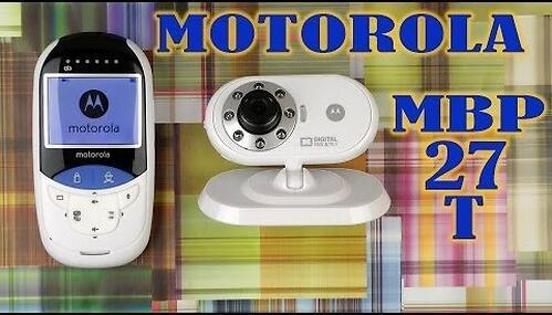 """Видеоняня Motorola MBP27T с диагональю экрана 2,4"""" c сенсорным термометром (16)"""