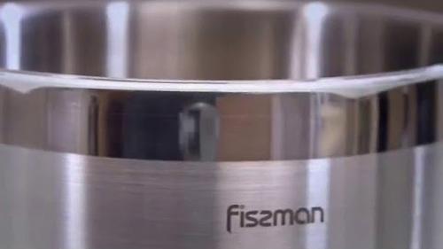 Кастрюля для варки овощей Fissman ASPARAGUS 3,5л с вставкой-пароваркой (нерж. сталь) 5099 (4)