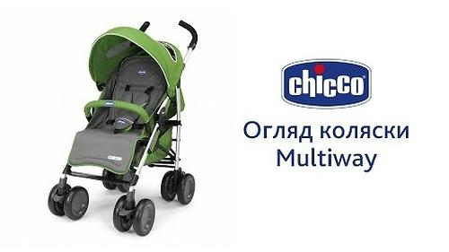 Прогулочная коляска Chicco Multiway Complete Fire (22)