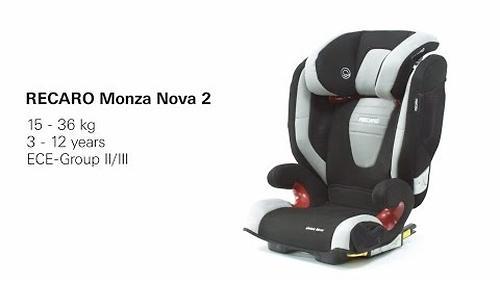 Автокресло Recaro Monza Nova 2 Seatfix Racing Red (19)