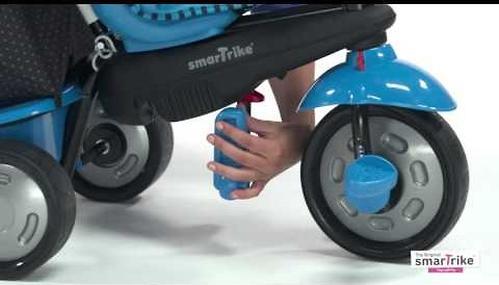Велосипед Smart Trike 4в1 Glow Red (10)