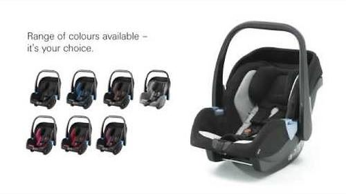 Автокресло Recaro Privia Black (11)