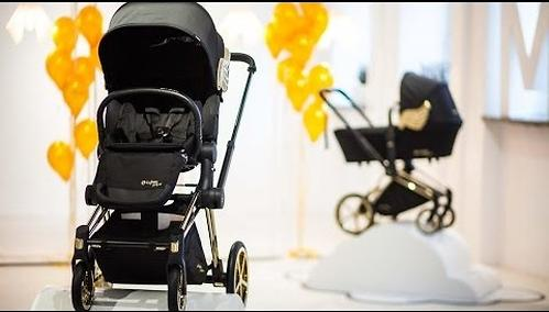Коляска Cybex Priam by Jeremy Scott Wings black (17)