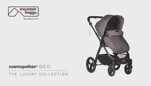 Коляска 2в1 Mountain Buggy Cosmopolitan Luxury Collection Geo (24)