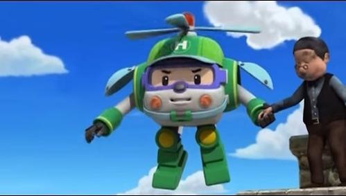 Игрушка Robocar Хэли металлический вертолет 6 см (6)