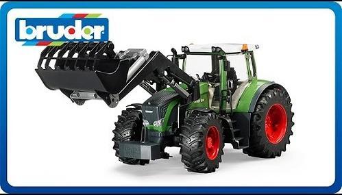 Трактор Fendt 936 Vario с погрузчиком (8)