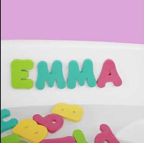 Набор ПВХ-игрушек Happy Baby для ванной IQ-Bubbles (6)