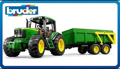 Трактор John Deere 6920 с прицепом (4)