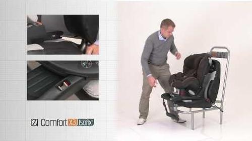 Автокресло BeSaFe Izi Comfort X3 Isofix Ivory Melange (11)