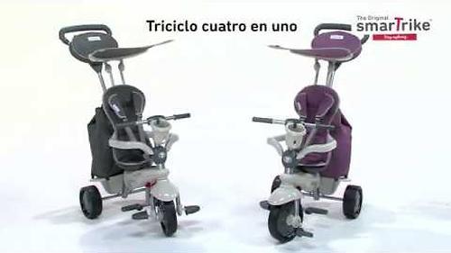 Велосипед Smart Trike 4в1 Voyage Blue (12)