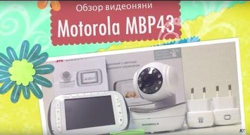 """Видеоняня Motorola MBP43 с диагональю экрана 3,5"""" (4)"""