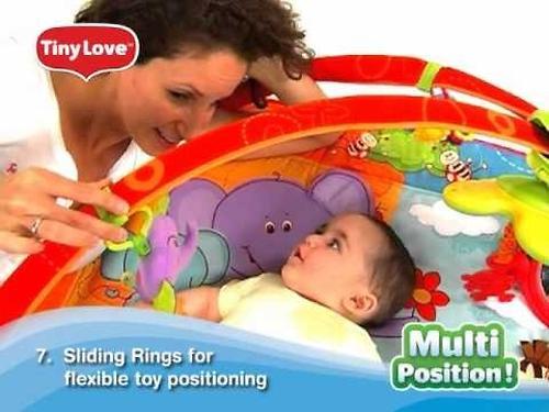 Развивающий коврик Tiny Love Разноцветное Сафари MAXI (12)