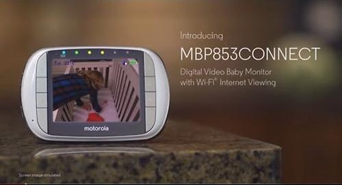 Видеоняня Motorola цифровая беспроводная MBP853 Connect-2 (18)