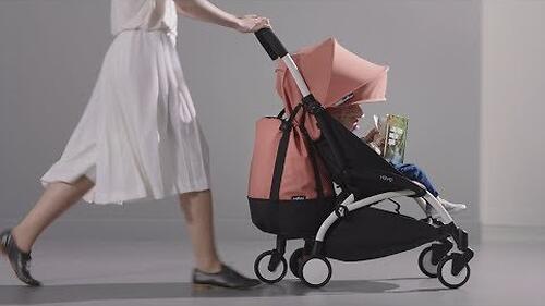 Сумка для коляски Babyzen YoYo с колесом Rolling Bag Toffee (10)