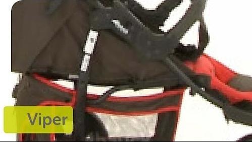 Коляска Hauck Viper Черно-белая (10)