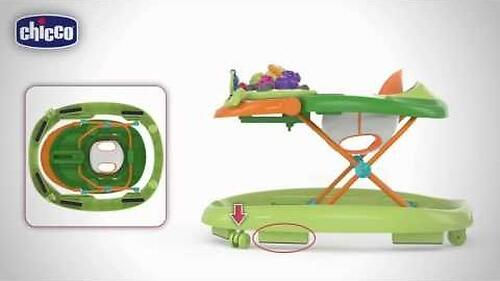 Ходунки Chicco Walky Talky Baby Walker Green Wave (18)