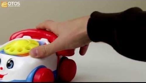 Игрушка-каталка Fisher-Price Веселый телефон (8)