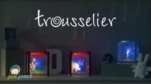 Светильник-ночник Trousselier в форме куба Magic Lantern Butterfly - White 12V (8)