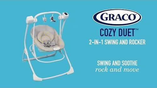 Качель Graco Cozy Duet Woodland Walk (10)