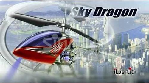 Вертолет Скай Драгон 3-х канальный с гироскопом (10)