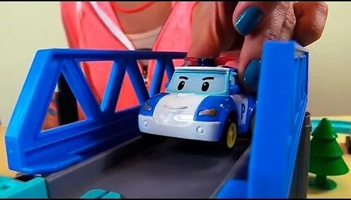 Набор Robocar Мега трек с двумя Умными машинами (12)