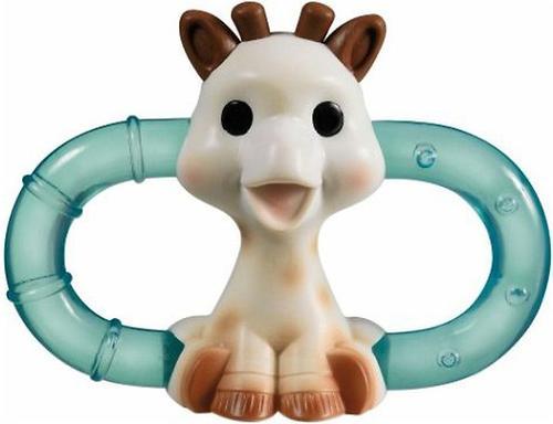 Двойное кольцо для прорезывания с охлаждающим эффектом Sophie la girafe (1)