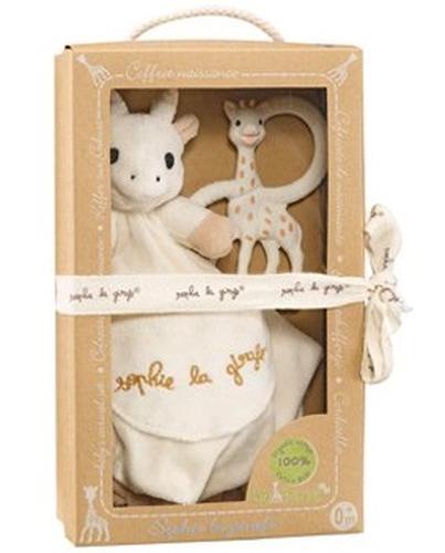 Подарочный набор Vulli из комфортера и кольца для прорезывания Sophie la girafe (5)