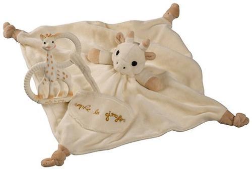 Подарочный набор Vulli из комфортера и кольца для прорезывания Sophie la girafe (6)