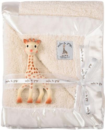 Подарочный набор Vulli Жираф Софи с покрывалом (3)